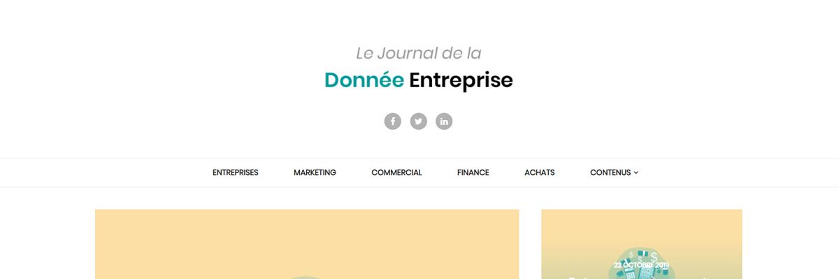 Journal de la Donnée Entreprise - B-Reputation